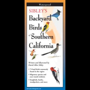 Peterson's Backyard Birds of Southern California - Poster ...