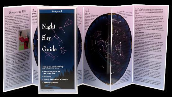 Night Sky Guide Foldout Image